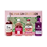Pink Gin Gift Set - Flavoured Gin Includes 4 x Pink Gin