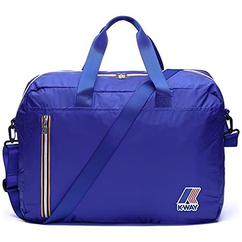 Borsone K-Way duffle k-pocket cabina 9AKK1346 741 blue royal