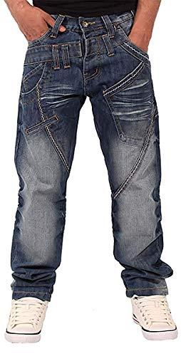 Peviani Uomini Ragazzi Vero Harpenden Denim Stelle Jeans Vestibilità Regolare G Bar Religione