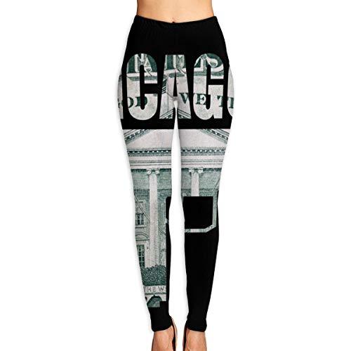 Pantalon de Yoga pour Femmes, Drapeau de l'État de Floride, États-Unis. Pantalon d'entraînement Taille Haute Vector Format XL