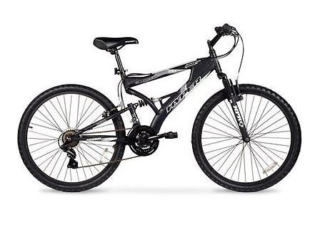 26' Men's Mountain Bike, Black