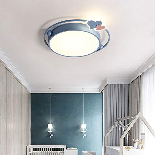 LED Plafond Light for Children's Room Cartoon Kinderkamer Lamp Met Traploos Dimmen Ceiling Lamp Voor Jongens Meisjes Slaapkamer Kindergarten Met Afstandsbediening,C