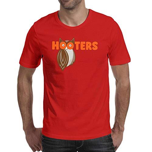 JMJMJMAS Breathable T-Shirts Hooters-Restaurant-T Shirts for Men