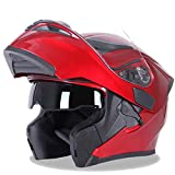 ATV Helmets Motorcycle Glasses Snowmobile Helmet Heated Shield Bike Lights Front and Back