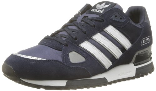 adidas ZX 750, Unisex-Erwachsene Sneakers, Blau (New Navy FTW/White/Dark Navy), 44 2/3 EU (10 Herren UK)