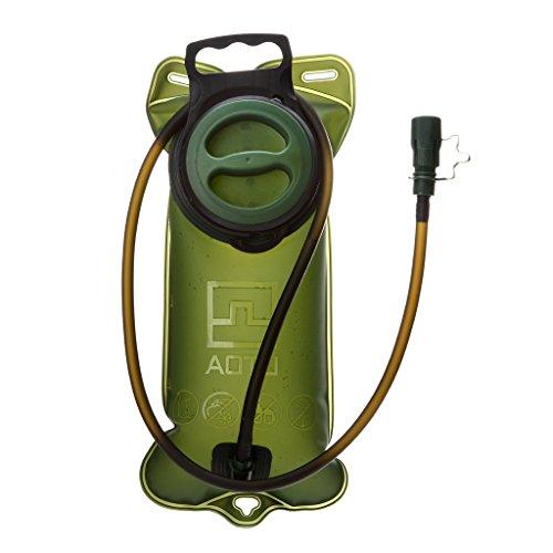 SM SunniMix Vejiga de Hidratación Depósito de Agua a Prueba de Fugas de 2L, Bolsa de Vejiga de Almacenamiento de Agua Sin BPA con Tubo Largo, Reemplazo de Mochila