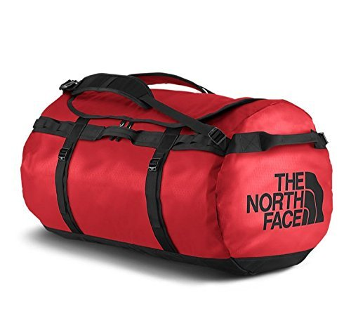 The North Face Base Camp Duffel Sports Bag, Unisex Adult, Red Red / TNF Black, XXL