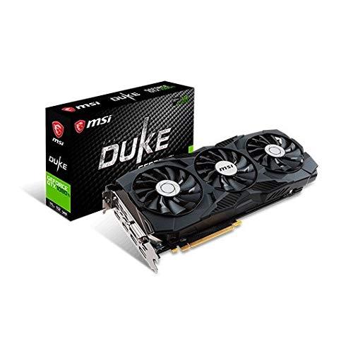 MSI GTX 1080 Ti Duke 11G OC Grafikkarte Nvidia GeForce GTX 1080 Ti 1645MHz