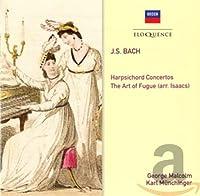 BACH: THE ART OF FUGUE; HARPSICHORD CONCERTOS NOS. 1 & 2