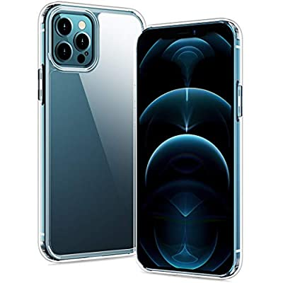 SPIDERCASE Case Compatible with iPhone 12 Pro Max Case - Clear