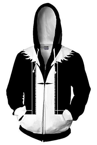 Herren Damen Kapuzenpullover Sweatshirt Hoodie Print Kapuzenpulli Tops Jacke Pullovershirt Sweatjacke Outwear Oberteile Pullovershirt Hoodies Jumper Kaputzen Squall Leonhart Final Fantasy VIII
