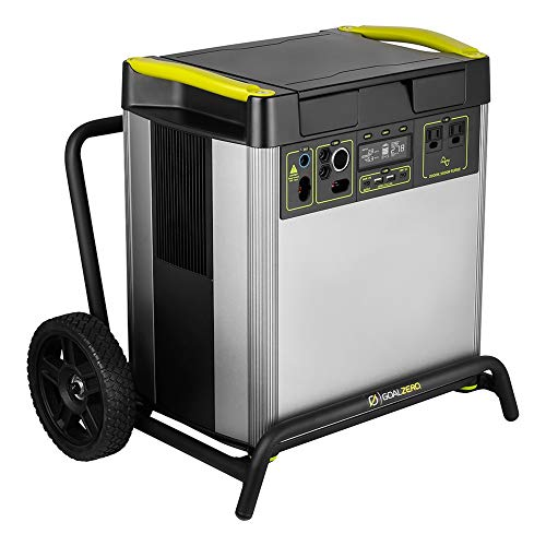 GOALZERO Yeti 6000X Portable Power Station, 6071Wh Portable Lithium Battery, 2000W AC Inverter, Backup Power Supply Generators for Home Use, Solar Generator for Outdoor & Emergency Power Use