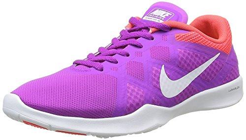 Nike Damen Lunar Lux Tr Hallenschuhe, Grau (Hyper Volt/White Bright Crimson ClHyper Volt/White Bright Crimson Cl), 39 EU