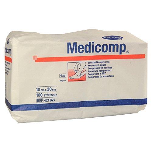 HARTMANN 4218271 Medicomp Unsteril, 4fach, 10cm x 20cm, 100 Stück