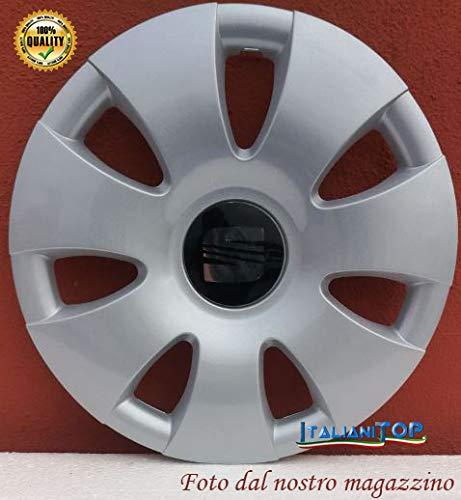 Generico Seat Ibiza/Cordoba Signo - Dos (2) Tapacubos 6201/4 Diámetro 14
