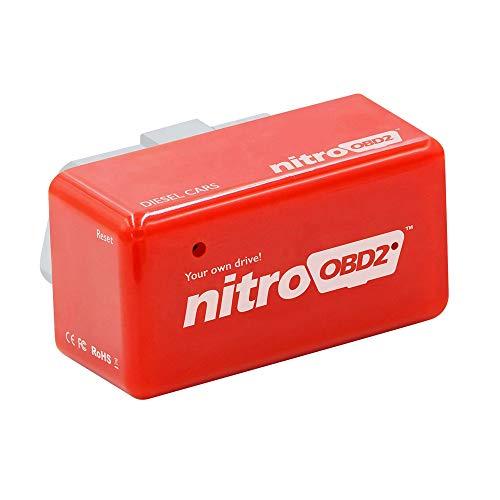 Shoppy Lab Nitro Modulo Aggiuntivo Universale Obd2 Centralina Auto Diesel Chip Tuning Obdii