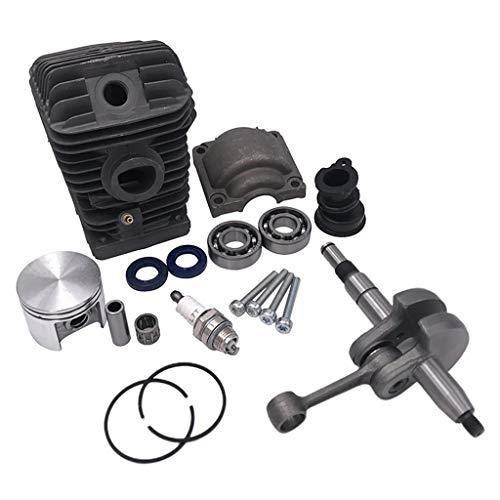 MSEKKO Kit de reconstrucción de Motor de Motor Pion de Cilindro de Motosierra de Calidad para Motosierra para Corte de Madera de jardinería y Madera