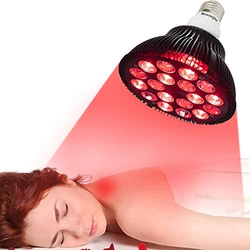Red Light Therapy Lamp by Mcvaeijiu Infrared Light Therapy Device 36W 18 LED 660nm Red and 850nm product image