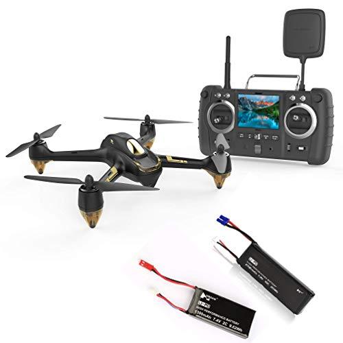 Hubsan x4 H501s Pro 5,8G FPV Quadcopter Headless Modus GPS RTF Drohne mit 3M Pixel Kamera (Hohe Version) Schwarz