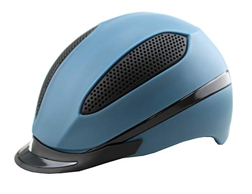 KED Helmsysteme Reithelm Paso Blue Matt Gr. M