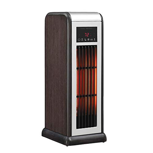 Duraflame Infrared Quartz Tower Heater, 1,500 Watts, Remote, Thermostat Heater Infrared Space