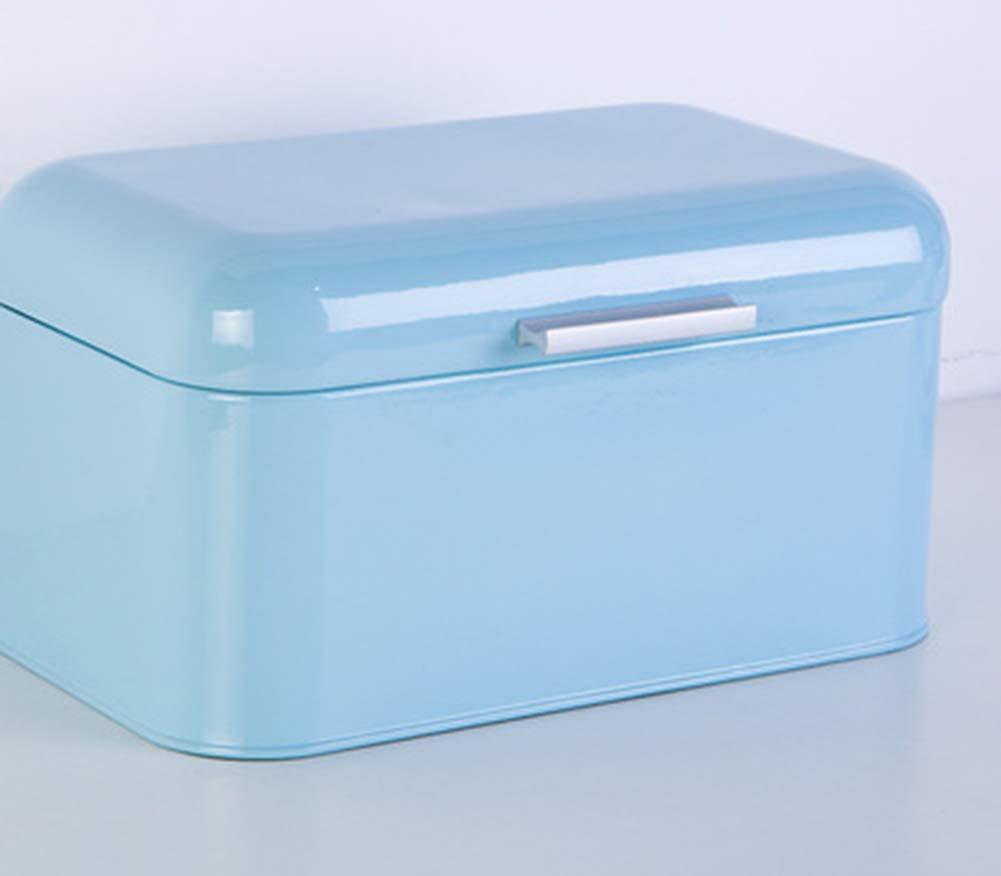Sophia Caja De Almacenaje, Caja De Pan Metálica De Chapa Retro ...