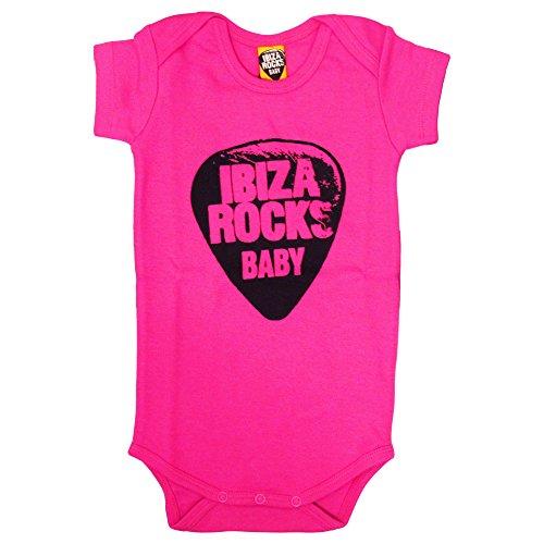 Ibiza Rocks: Pelele Plectro 2016 - Fuscia, 6-12 meses