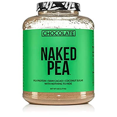 Pea Protein Isolate from North American Farms - 5 Pounds by NAKED nutrition