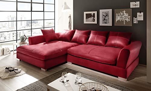 Reboz Big Sofa Hoekbank kunstleer in verschillende kleuren en uitvoeringen