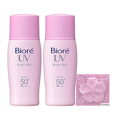 Biore UV Sarasara Bright Milk Sunscreen, SPF50+ PA++++