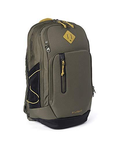 RIP CURL F-Light Ultra STACKA,Reise-Rucksack,Ultra leicht,gepolstertes Laptopfach,verstärkter Boden,Frontschutz,Military Green