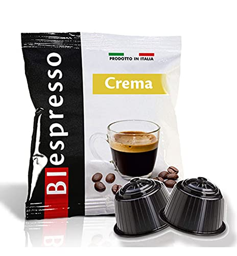 DolceGusto Nescafè Capsule Compatibili Miscela Crema Oro Prodotto da Biespresso (CREMA, 200)