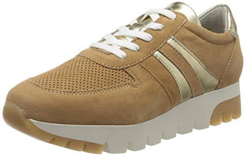 Tamaris Damen 1-1-23749-24 Sneaker, Beige (Camel/LT.Gold 313), 41 EU