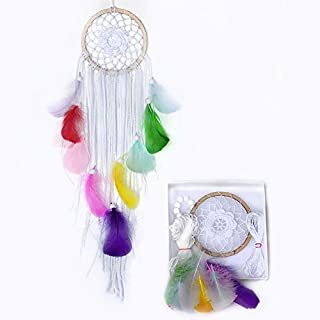 Unicorn Dream Catcher Kit DIY Kids Craft Kits For Teens Dreamcatcher Make Your Own Craft Gift Dia 4