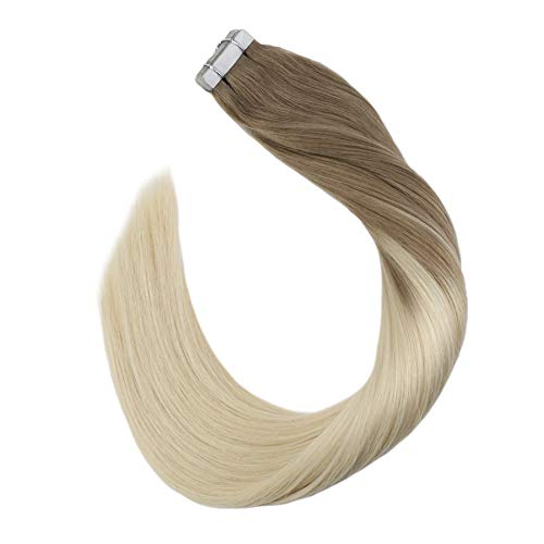 Ugeat Extensiones Cabello Natural Humano Remy Brazilian