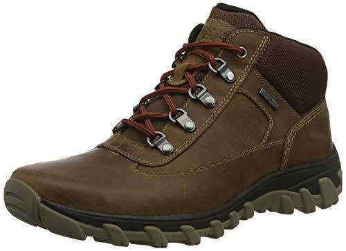 Rockport Herren Cold Springs Plus Chukka Combat Boots, Braun (Dark Tan 001), 40 EU