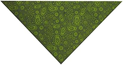 Guardian Gear Insect Shield Paisley Bandana for Dogs, Green