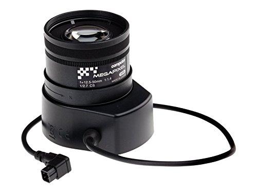 Axis 5800-791 cameralens IP-camera telelens zwart - cameralens (IP-camera, telelens, CS mount, 12,5-50 mm, 25,4/3 mm (1/3 inch), AXIS P1353/-E, AXIS P1354/-E, AXIS Q1602/-E, AXIS Q1604/-E)