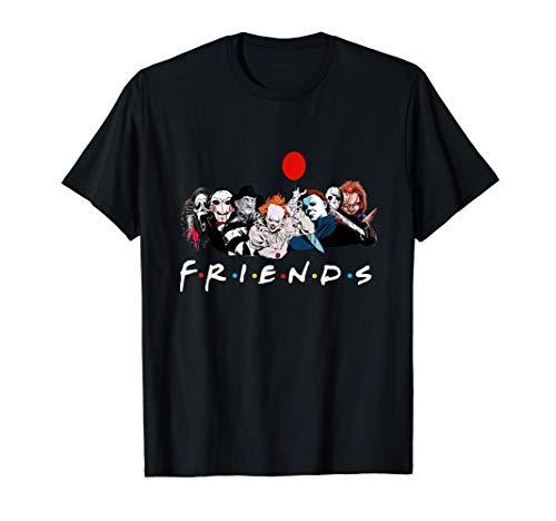 Disfraz de Halloween del personaje de la película de terror Camiseta