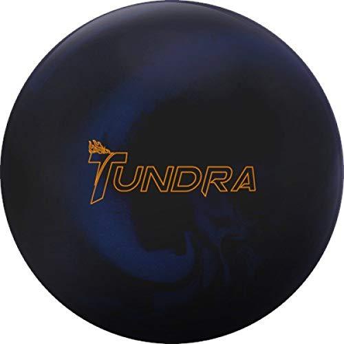 Track Tundra Solid, schwarz, blau solid Oberfläche, Reaktiv Bowlingkugel für Einsteiger und Turnierspieler - inklusive 100ml EMAX Ball-Reiniger Größe 16 LBS