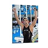 LILITING 10 Michael Phelps Medaillen-Poster, Kunstdruck,