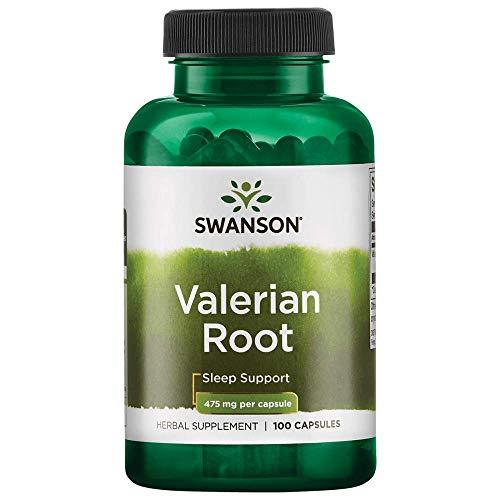 Price comparison product image Swanson Valerian Root 475 Milligrams 100 Capsules
