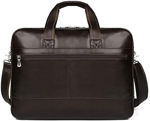SHENGDAFASHANGCHENG Laptop Bag 17 inch, Mens Laptop Briefcase, Expandable Carry on Computer Case, Business Office Attache Briefcase