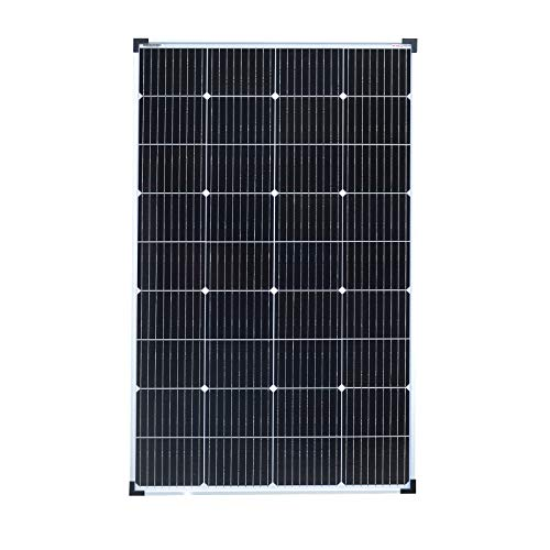 enjoy solar Perc Mono 150 W, 12 V, 9 barras (9BB) 166 x 166 mm, panel solar monocristalino, ideal para autocaravanas, cobertizos de jardín, barcos