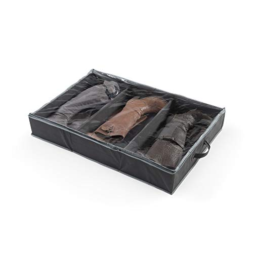 Compactor RAN7428 Custodia per 3 paia di stivali, Nero / Grigio