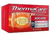 ThermaCare Wärmeumschläge – Wärmeauflagen unterer Rücken zur Linderung von Rückenschmerzen – Tiefenwärme zum Entspannen und Lockern der Muskeln – Größe S-XL – 6 Stück pro Packung