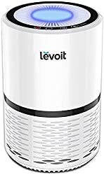powerful The LEVOIT H13 Real HEPA filter purifies the air from allergies, pets, smokers, smoke, dust and mold.