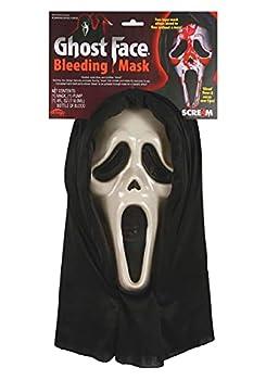Scream Mask Dripping Blood
