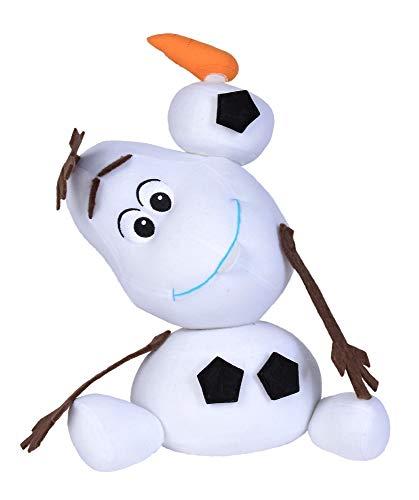 Simba Toys Peluches Disney - Peluche de Olaf de la Película Frozen, para Niños de todas las edades - 30 cm