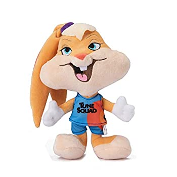 LOONEY TUNES Space Jam 2  9  Lola Jersey Plush Figure Toy   Space Jam Dog Toy for Pets   Plush Dog Chew Toy to Add to Dog Toy Bin   Dog Chew Toy from Warner Bros Looney Tunes